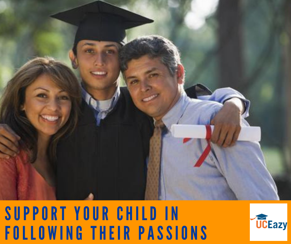 Support your child in following their passions