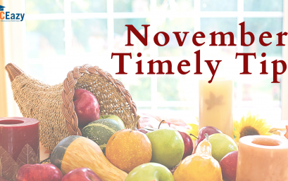 Timely Tips for November