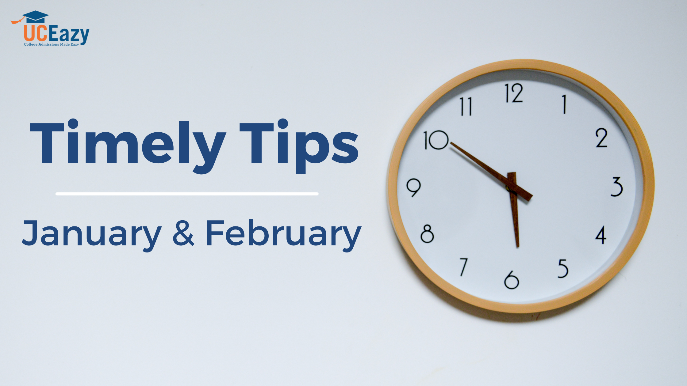 Timely Tips for January and February 2021